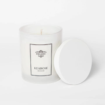 Small White Kearose Scented Candles