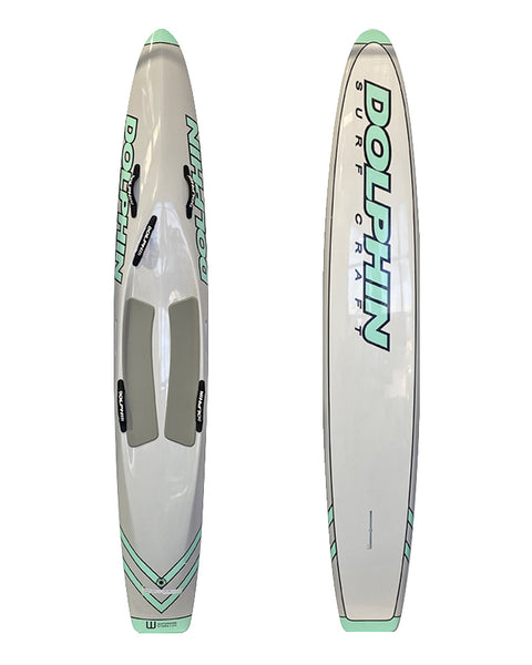 Dolphin 10'6 Carbon Racing Board - Available Now