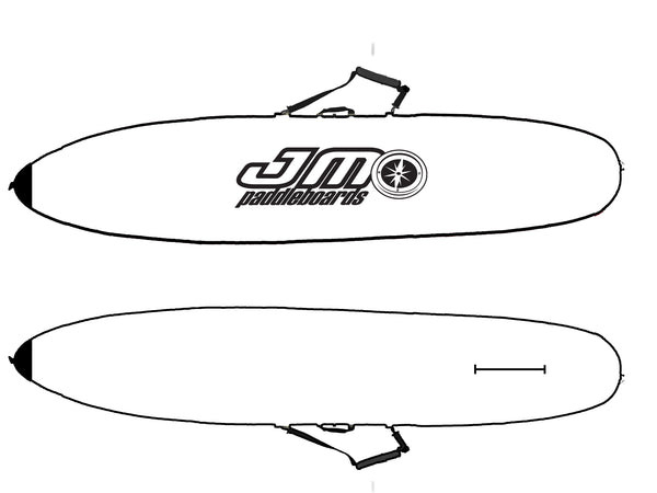 10'6 Padded Race Board Covers