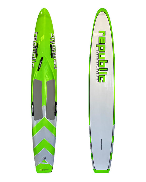 Republic 10'6 Carbon Racing Board - Available Now