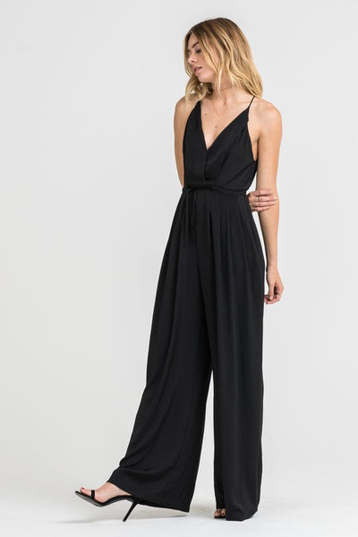 ~ All Black Everything Jumpsuit - Black - KORE CLOSET