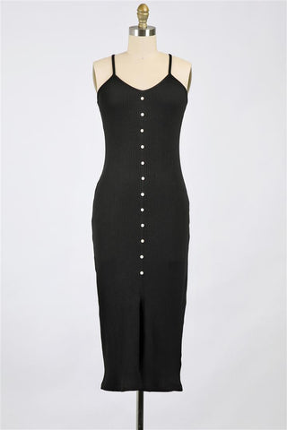 Midnight Rider Dress - Black