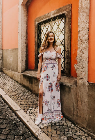 Barcelona Maxi Dress - Multi - KORE CLOSET