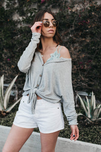 Easy Going Thermal - Heather Grey