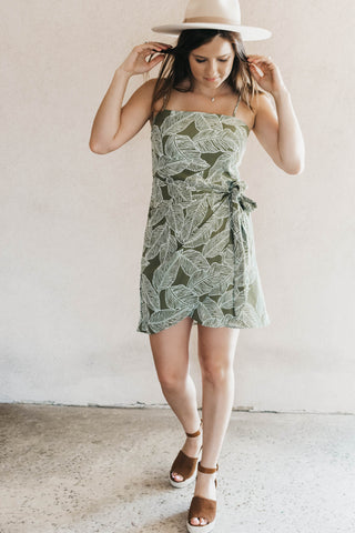 Leilani Palm Dress