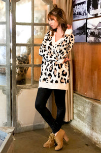 ~Kitty Kate Tunic Sweater - Leopard - KORE CLOSET