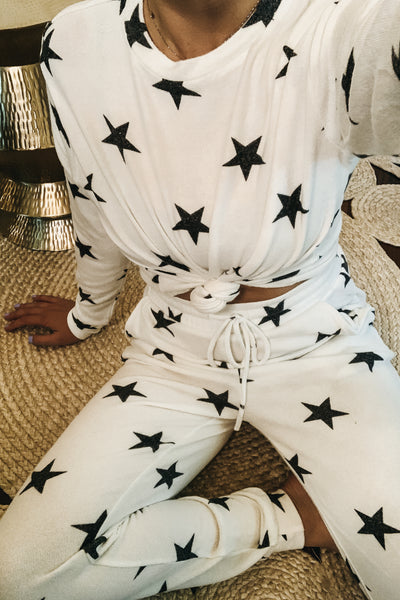 Stardust Lounge Set - White