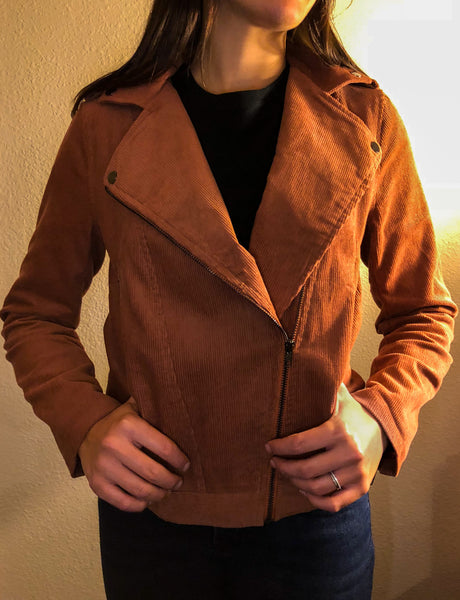 ~Play Your Cords Right Jacket - Rust - KORE CLOSET