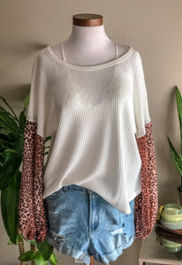 Lost In This Moment Top - Ivory - KORE CLOSET
