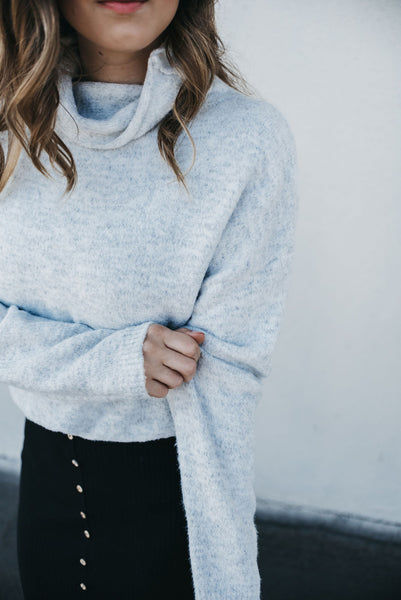 Never Settle Sweater - Grey
