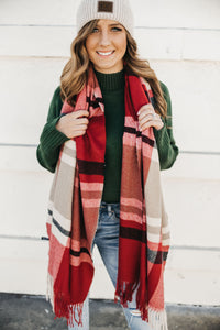 Christmas Morning Blanket Scarf