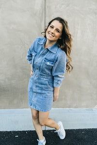Having A Denim Moment Dress