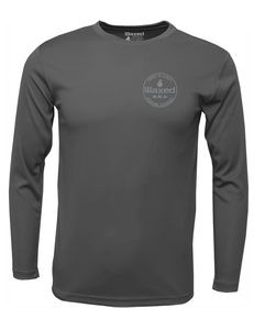 Mens Pioneer L/S Charcoal