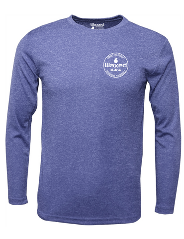 Mens Pioneer L/S Heather Royal