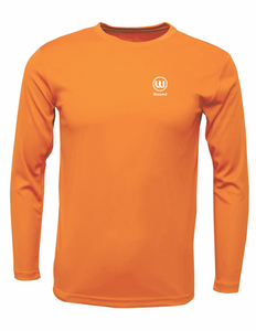 Kids Pioneer L/S Safety Orange