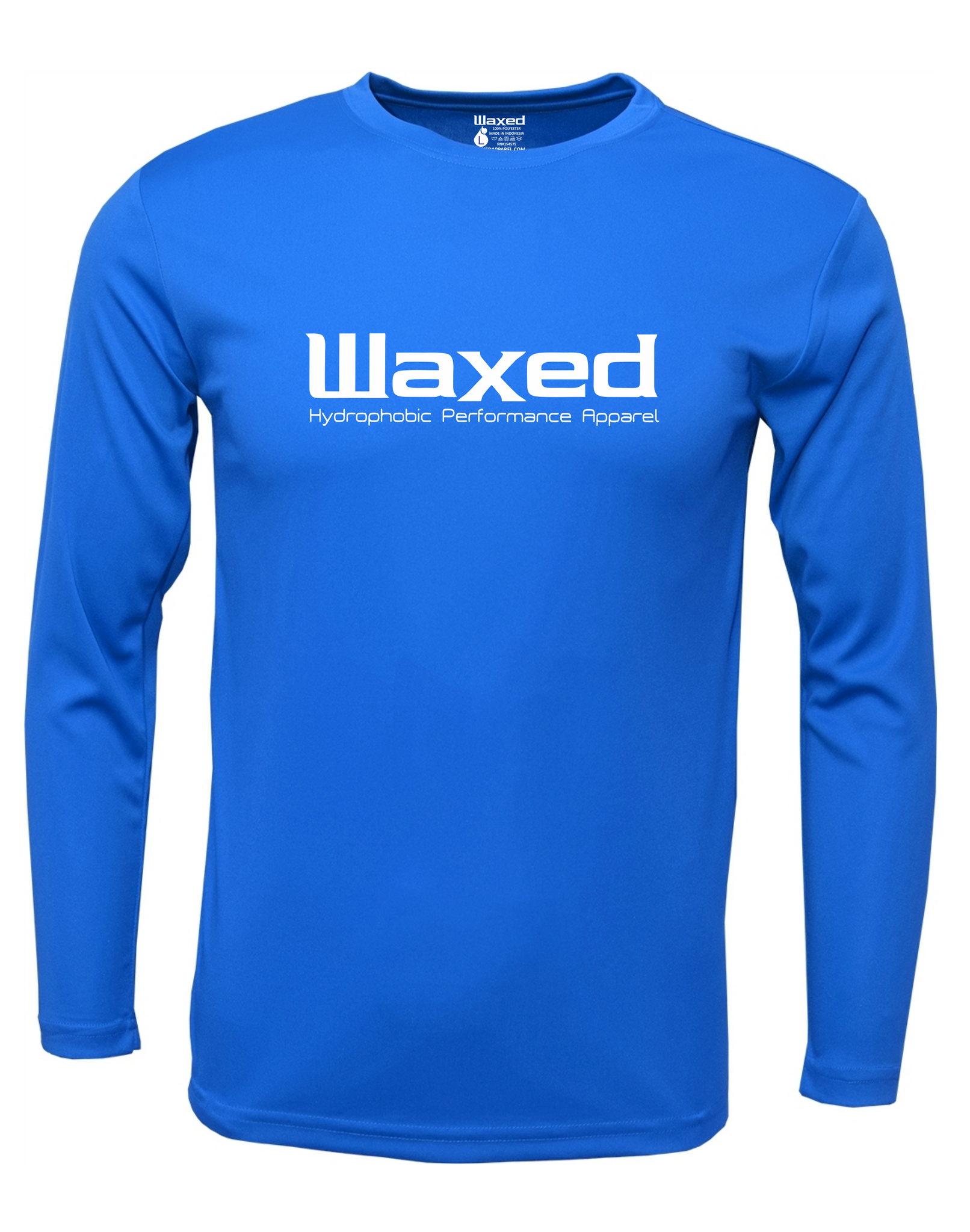 Mens Original Logo L/S Electric Blue