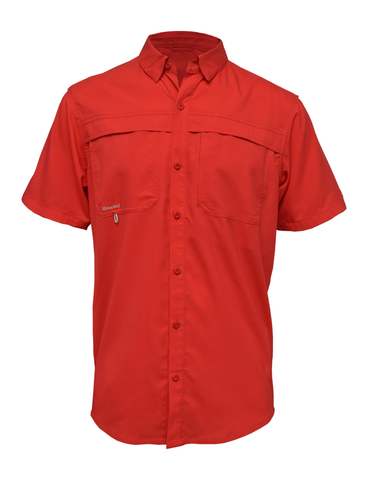 Waxed Sportsman S/S Red