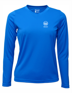 Womens Pioneer L/S Electric Blue