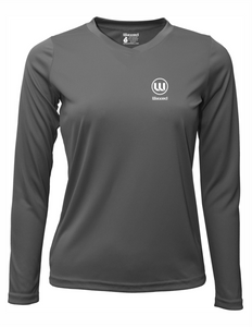 Womens Pioneer L/S Charcoal