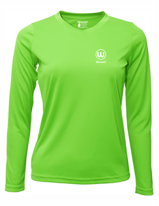 Womens Pioneer L/S Lime