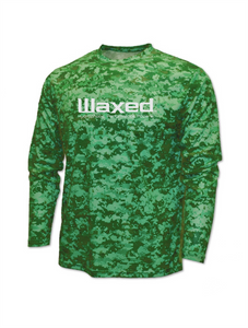 Waxed Performance L/S Green