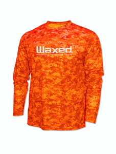 Waxed Performance L/S Orange
