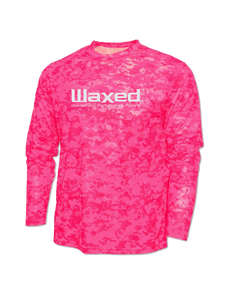 Waxed Performance L/S Pink