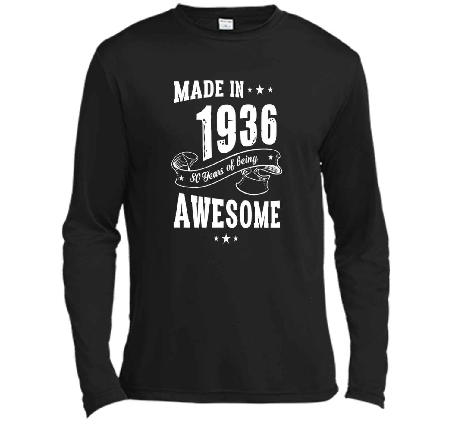 80th Birthday Shirt Made In 1936 80 Years Of Being Awesome