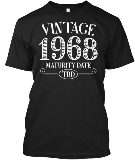 Vintage 1968 Birthday Shirt