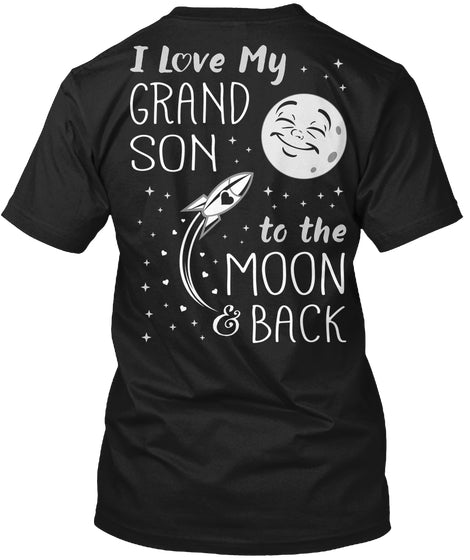 I Love My GrandSon to the Moon and Back