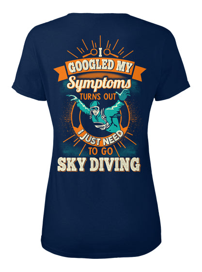 Awesome Sky Diving Shirt
