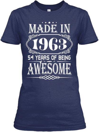 MADE IN 1963 - 54th BIRTHDAY