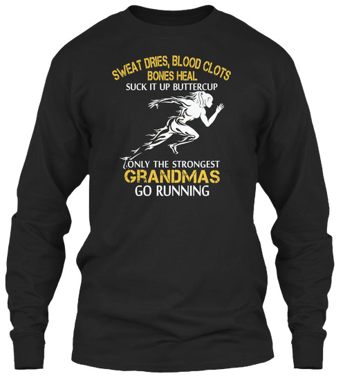 Strong Running Grandma Shirt