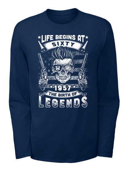 Life Begins At 60 1957 T-Shirt