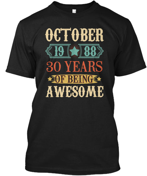 October 1988 30 Years Of Being Awesome