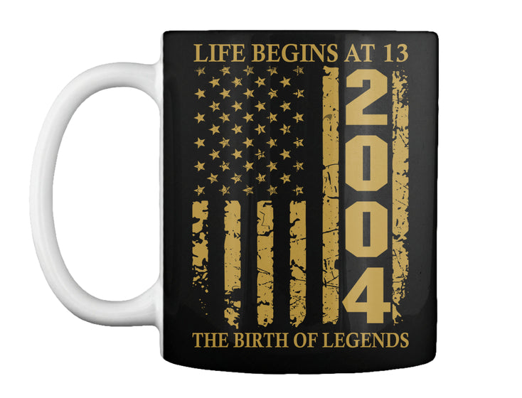 Life Begins At 13 2004 The Birth Of Legends Birthday Gift