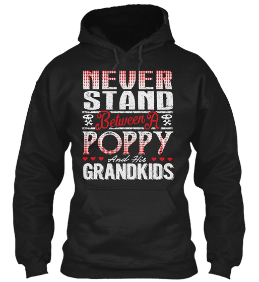 POPPY AND HIS GRANDKIDS ~ Front Print