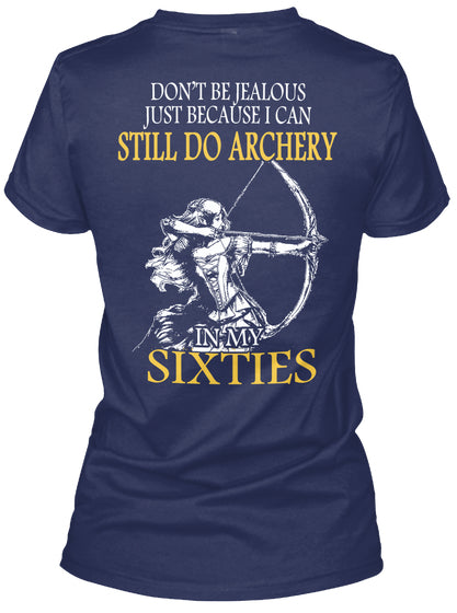 Limited - Archery At Sixties Woman