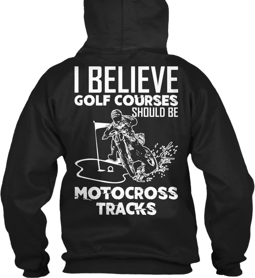 Golf Courses Should Be MX Tracks Ltd Ed.