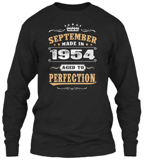 1954 September Aged to Perfection