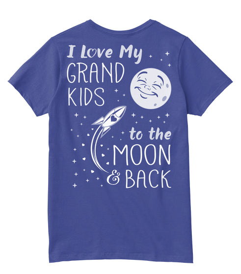 I Love My GrandKids to the Moon and Back
