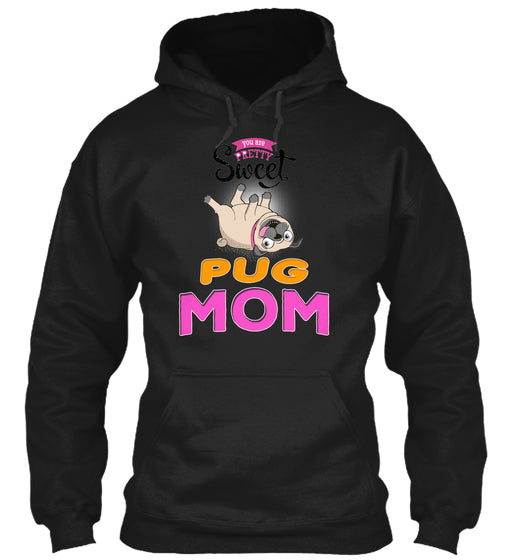 Card With Funny Pug Mom