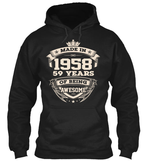 Made in 1958-59 years being awesome