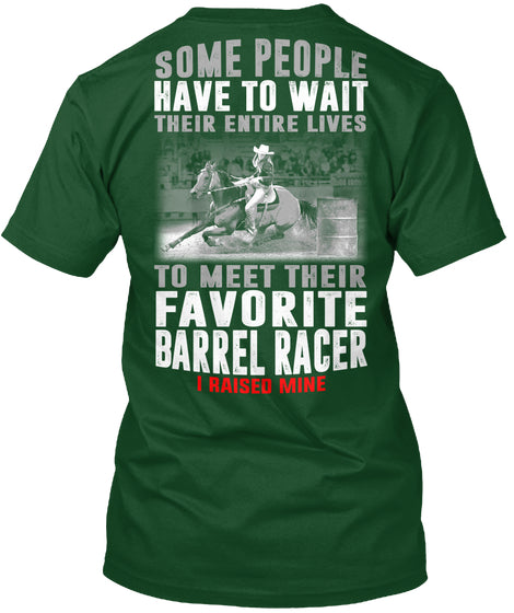 BARREL RACER'S PARENTS- LIMITED