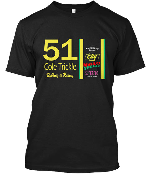 Cole Trickle Days of Thunder Rubbin is r