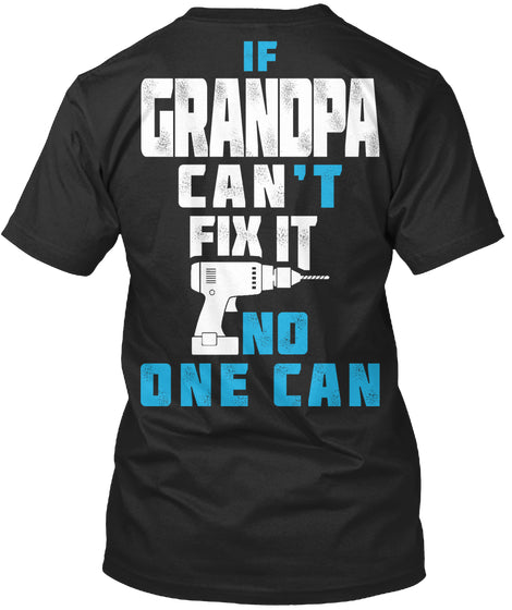 GRANDPA CAN FIX IT