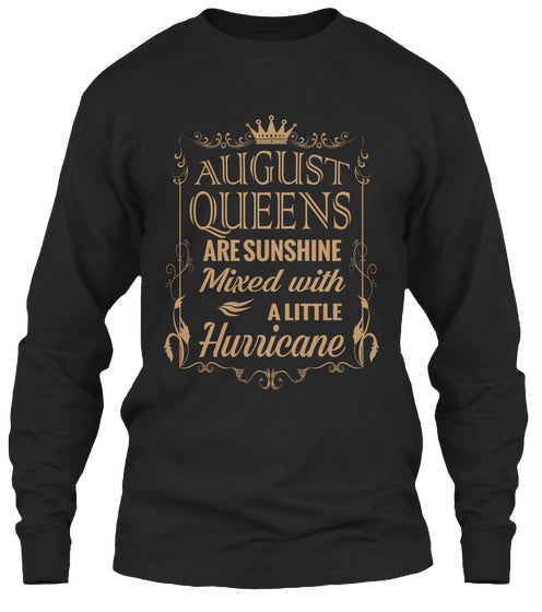 August Queen Birthday Shirt Born