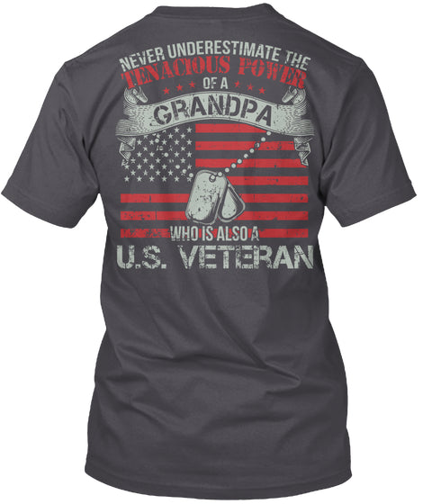 Never underestimate Grandpa