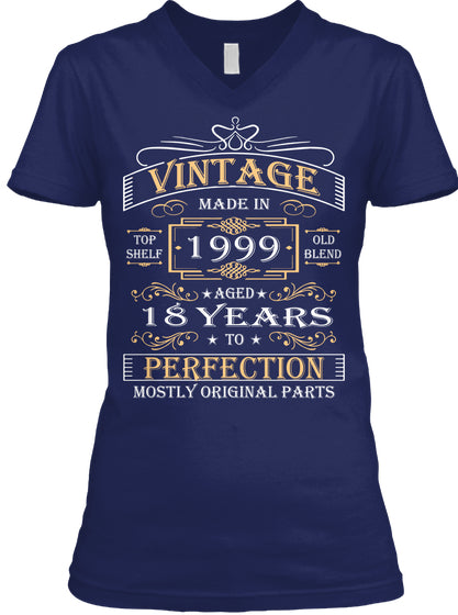Vintage Age 18 Years 1999 Perfect 18th Birthday Gift