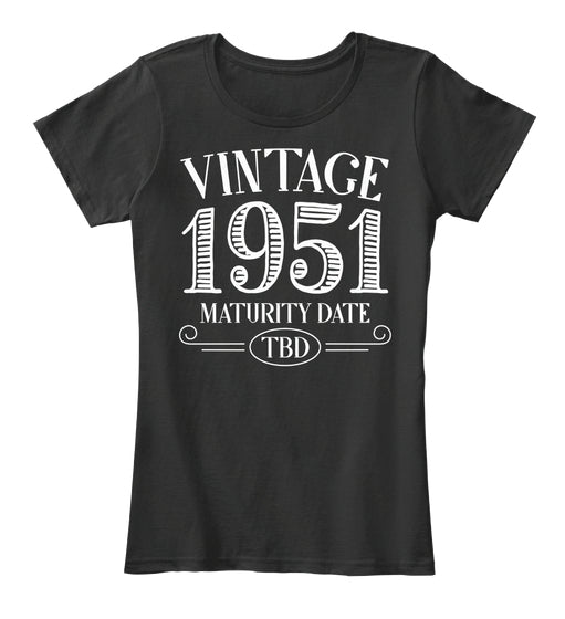 Vintage 1951 Birthday Shirt
